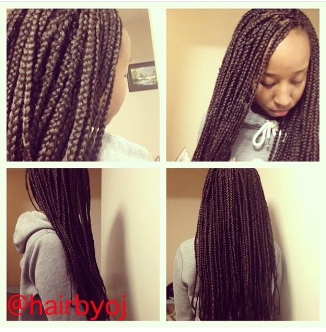 box braid hairstyles 2013