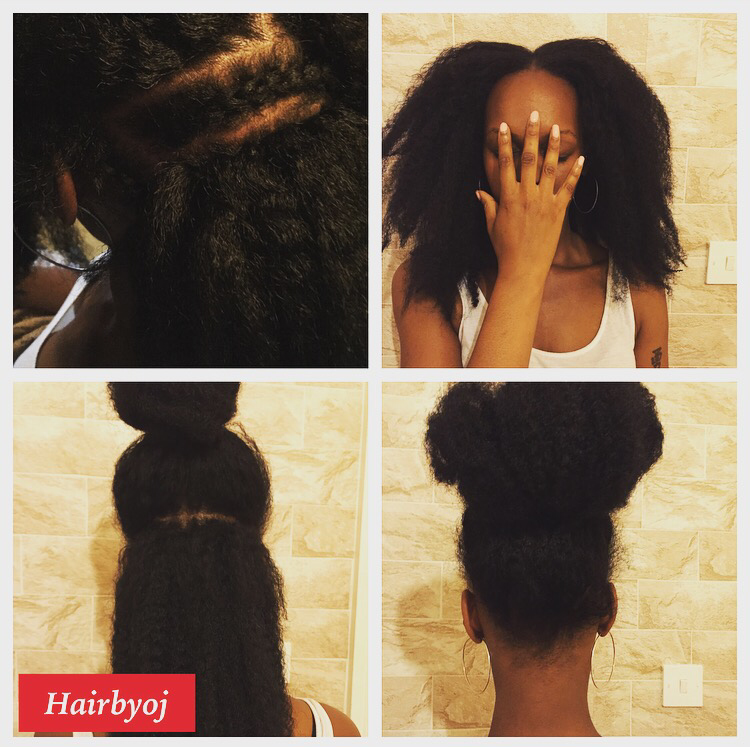Crochet Hair Leave Out : ... length knotless 3 way vixen crochet braids with leave out ? hairbyoj