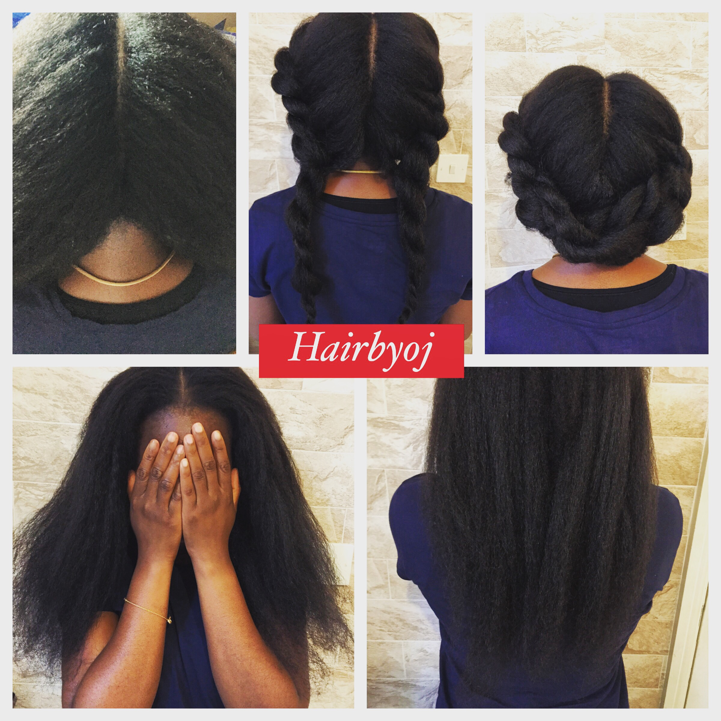Crochet Hair Vixen : ... way part vixen crochet braids with blowdried Marley hair ? hairbyoj