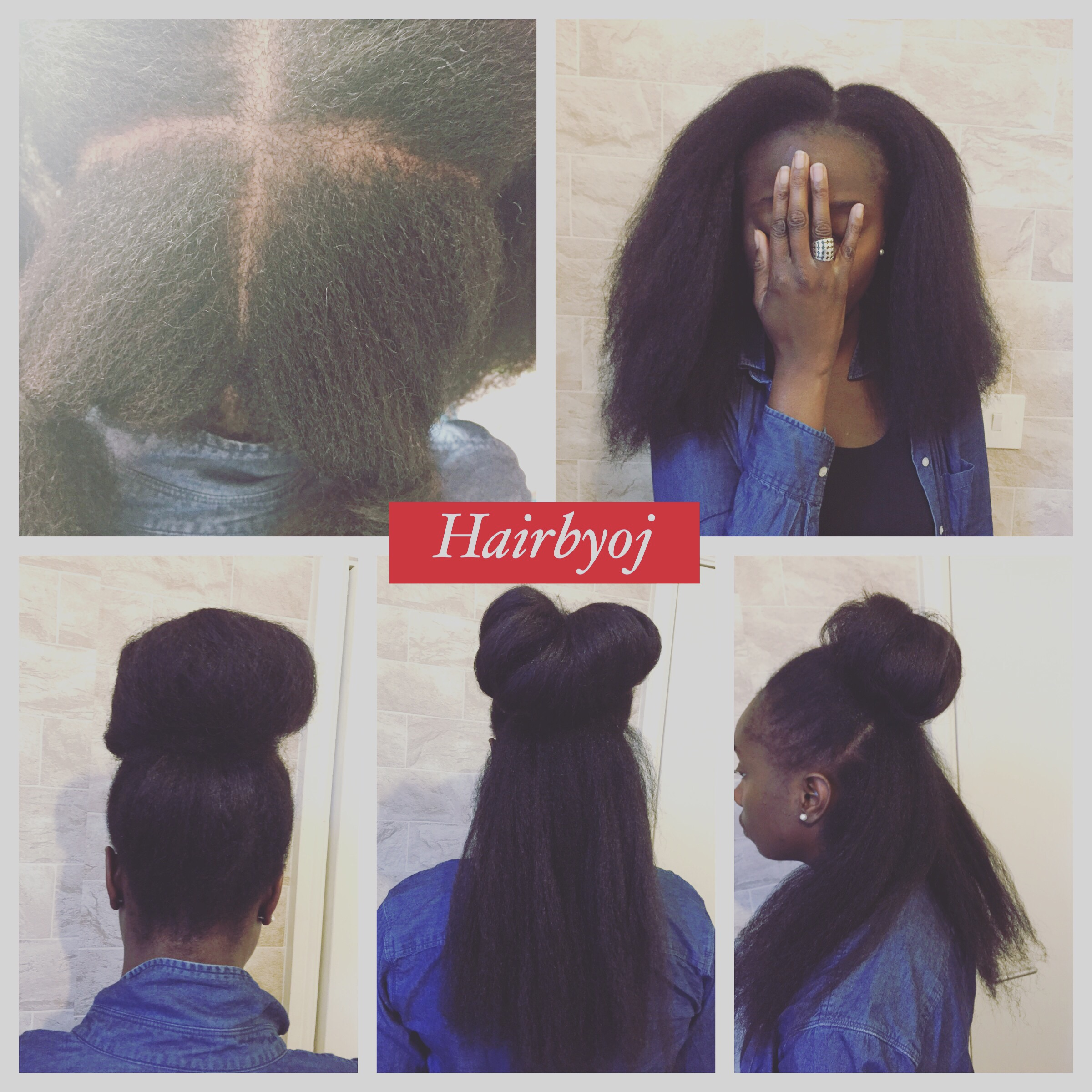 Crochet Marley Hair Vixen : Mid back length 4 way part blowdried vixen crochet braids with side ...