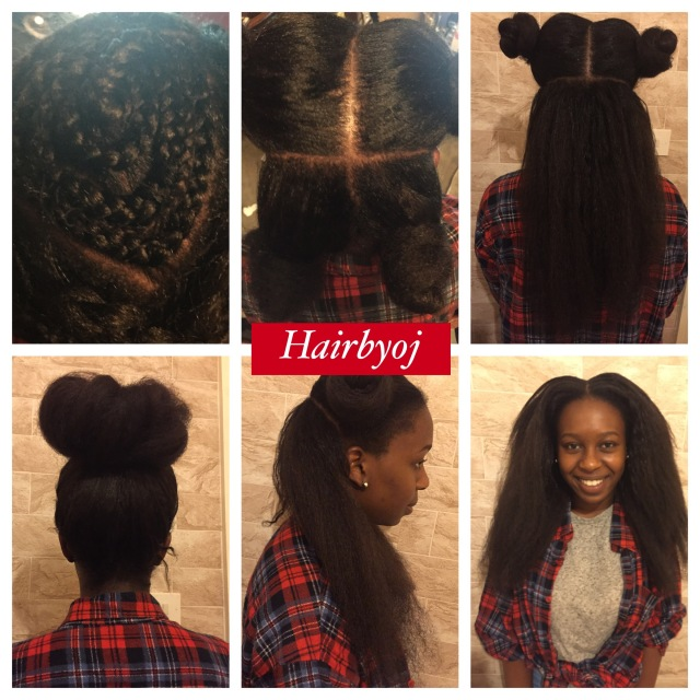 ... vixen crochet braids with Marley hair and leave out ? hairbyoj