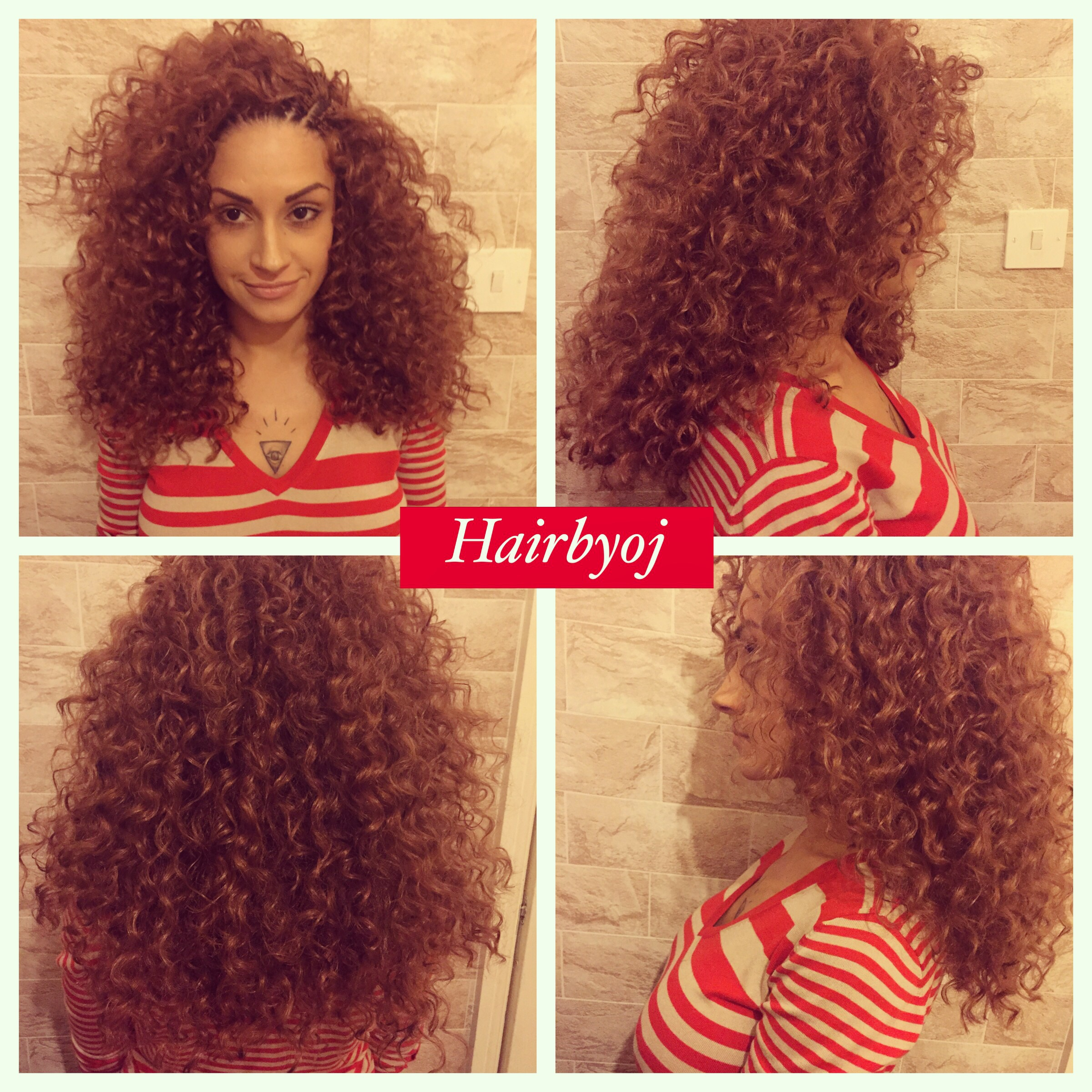Shoulder length curly crochet braids with layers ? hairbyoj