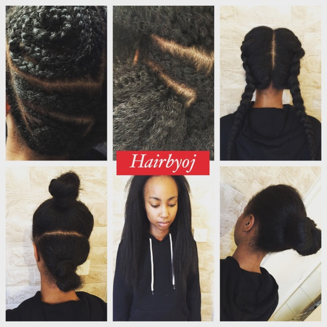 Crochet Box Braids With Leave Out : Knotless Crochet Braids with Leave Out