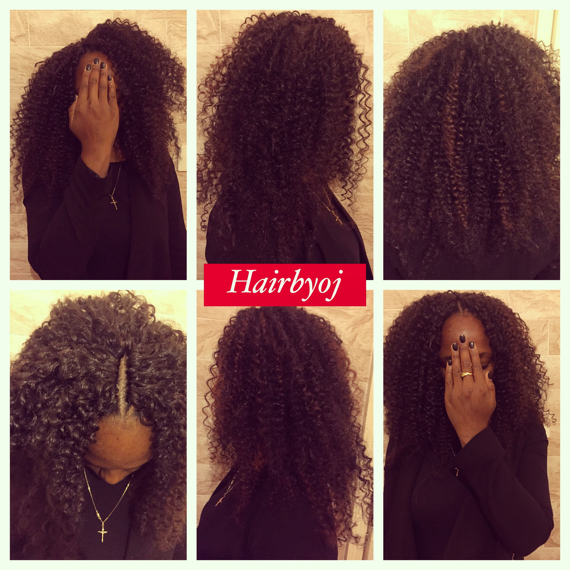 Crochet Hair Versatile : Past shoulder length water wave crochet braids with versatile middle ...