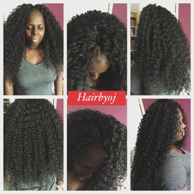 Crochet Hair Versatile : Chest length deep twist curl crochet braids with versatile knotless ...
