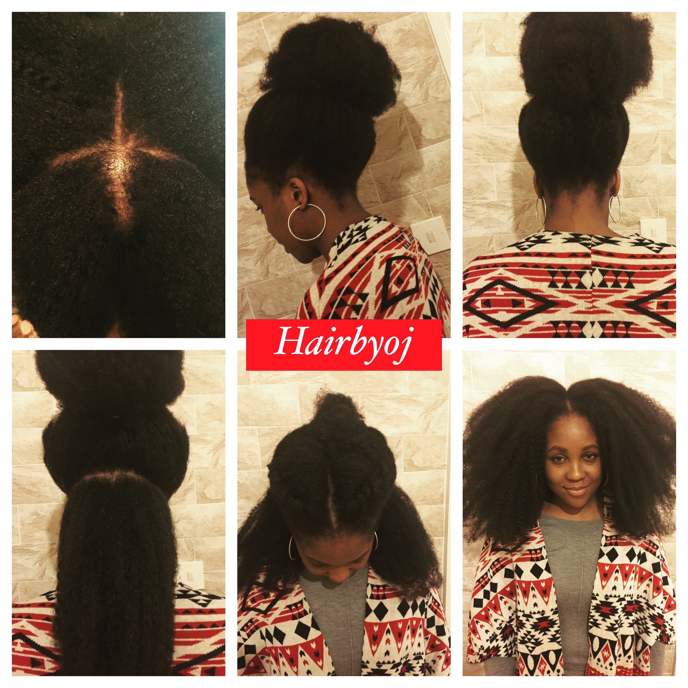 4 Way Part Vixen Crochet Braids With Marley Hair In It S Natural State Hairbyoj