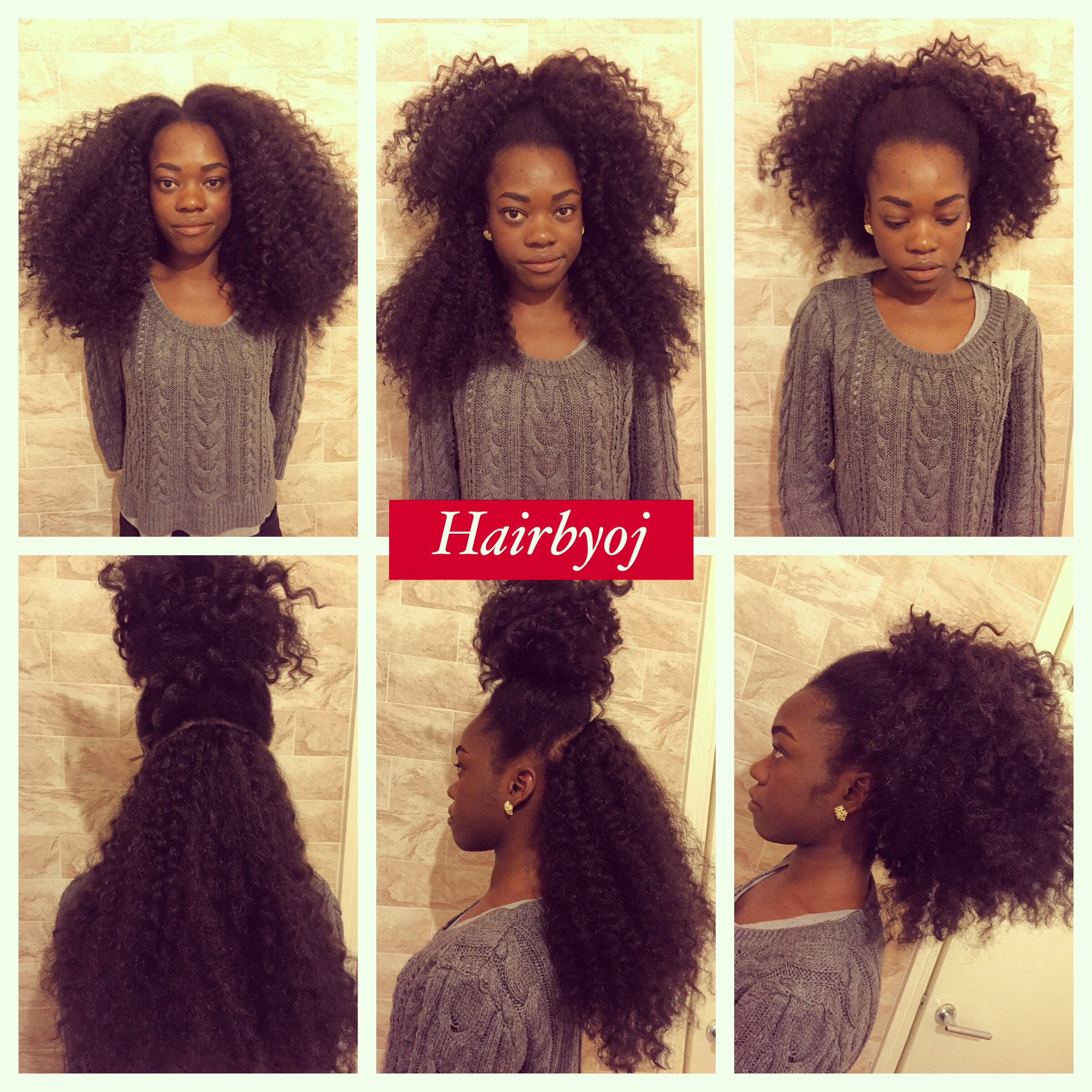 ... knotless vixen crochet braids with perimeter leave out ? hairbyoj