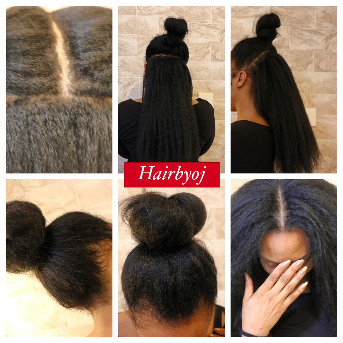 Crochet Straight Hair Vixen : hers! About 80% is crocheted with straight kanekelon hair! The vixen ...